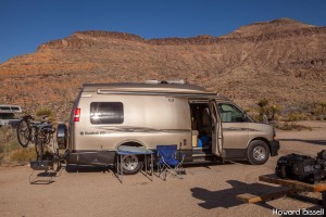 Mojave National Reserve campground