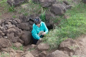 Christine in lava tube