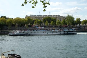 Cruising the Seine